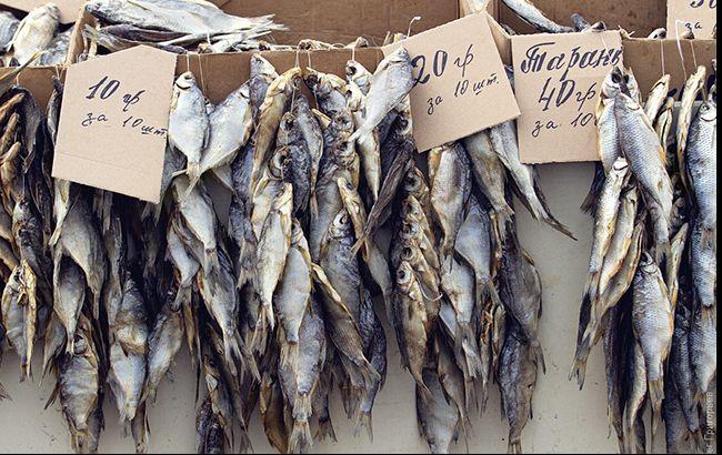 Фото: рыбные ряды одесского привоза (Олег Григорьев)