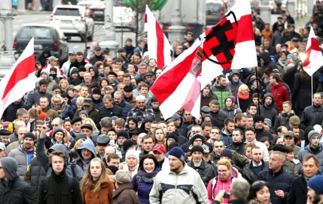 У Білорусі активіста оштрафували за участь у акції проти декрету про дармоїдство