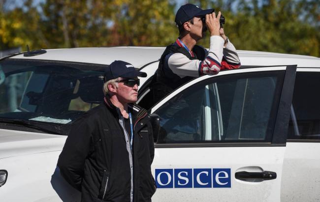 ОБСЕ зафиксировала пропажу тяжелого оружия из мест хранения на Донбассе