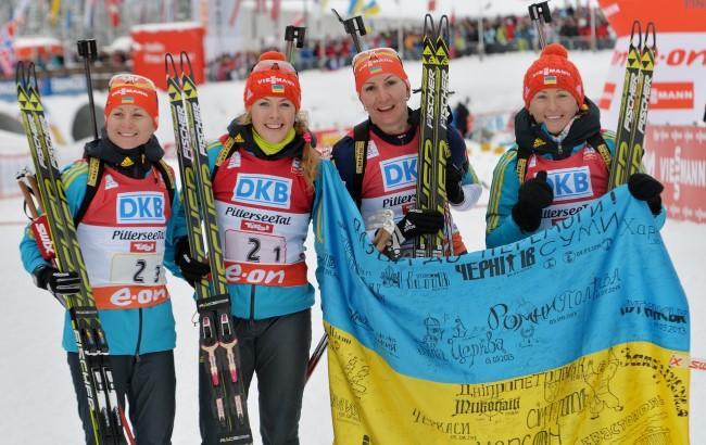 Фото: Жіноча збірна України з біатлону (sport.bigmir.net)
