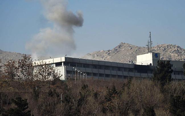 Фото: Теракт в Кабулі (Blaiserboy twitter)