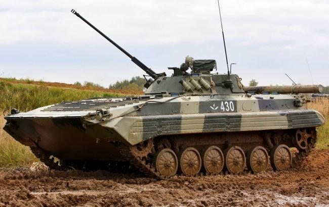 Фото: Украинская БМП-2 (expres.ua)