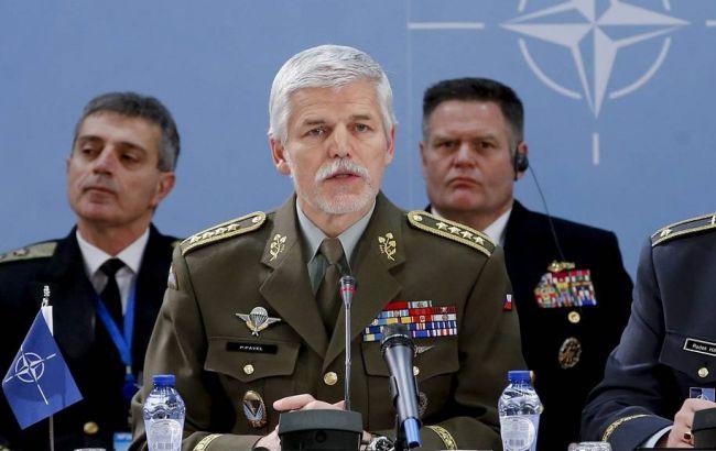 Фото: генерал НАТО Петр Павел