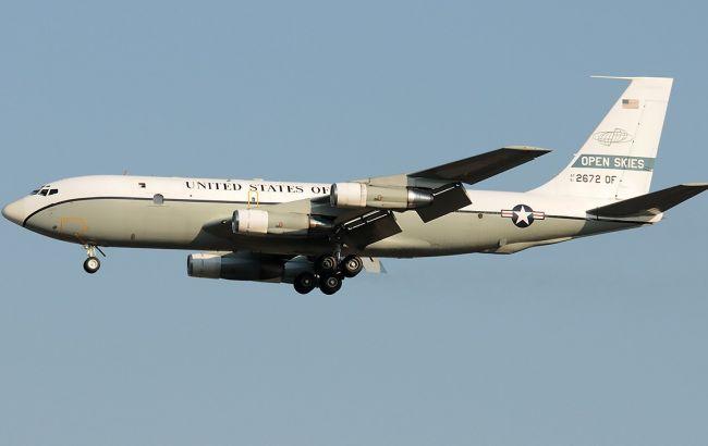 Самолеты США продолжают мониторинг возле Крыма