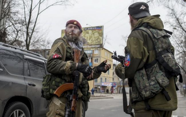 Фото: боевики на Донбассе