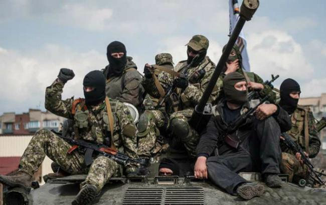 Фото: боевики Донбасса