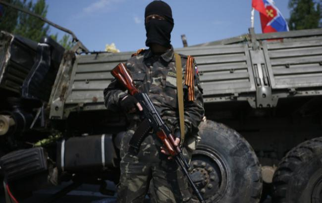 Фото: бойовики Донбасу