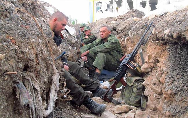 Фото: бойовики на Донбасі (facebook.com-abazia)