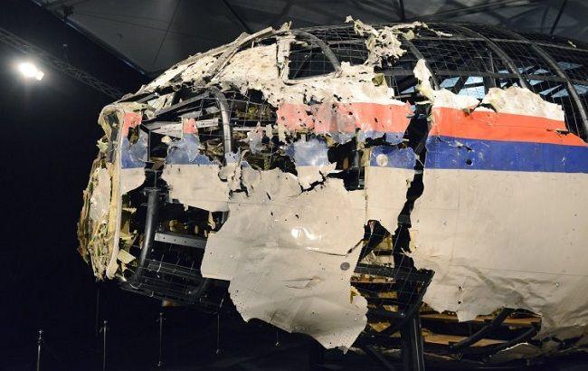 Фото: остатки фюзеляжа Boeing (УНИАН)