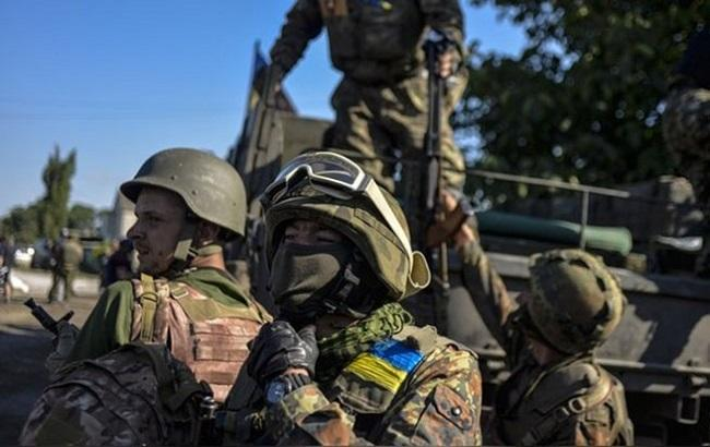 Фото: військовослужбовці Збройних сил України