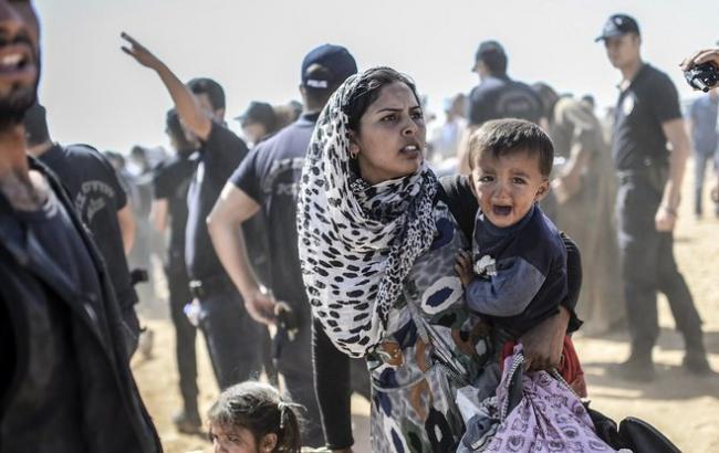 В результате авиаударов по лагерю беженцев в Сирии погибли 28 человек