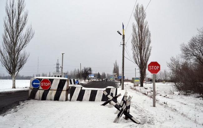 Фото: блокпости на Донбасі (прес-служба донецького облглавку НП України)