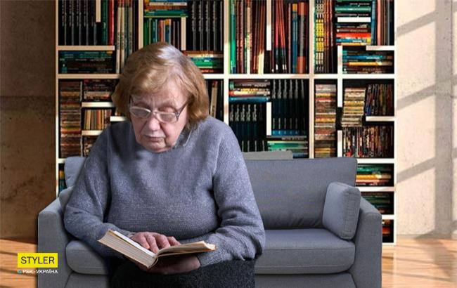 """""""Люди для людей"""": в киевском супермаркете для читающей бабушки поставили диванчик"""