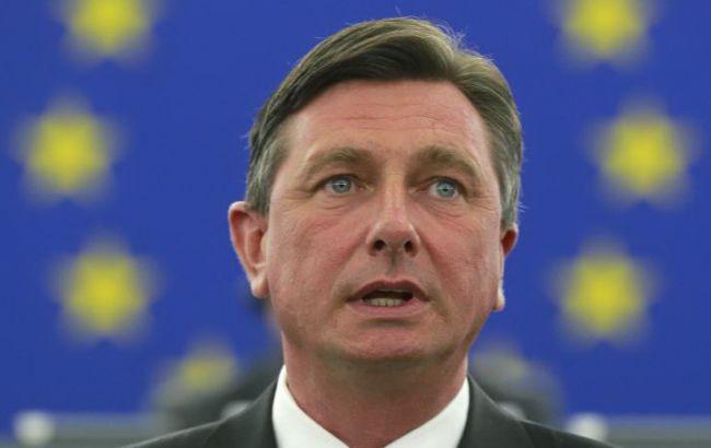Президент Словении посетит Украину 12 февраля