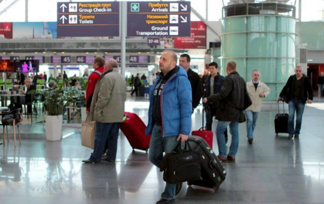 """Пасажиропотік """"Борисполя"""" в березні виріс на 9% - до майже 460 тис. осіб"""