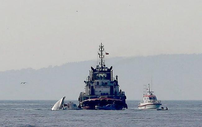 Фото: движение судов втурецком проливе Босфор (Anadolu)
