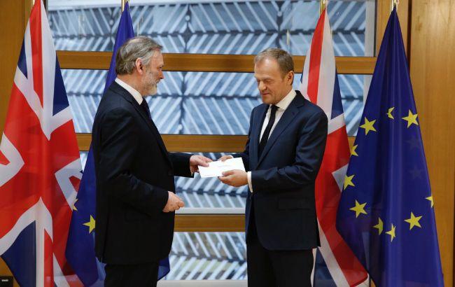 Британія передала Євросоюзу заяву про вихід
