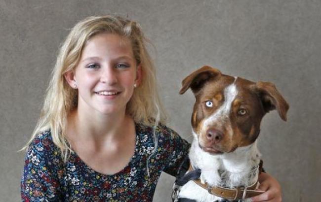 Фото: Бристин и ее спаситель (bdzhola.com)