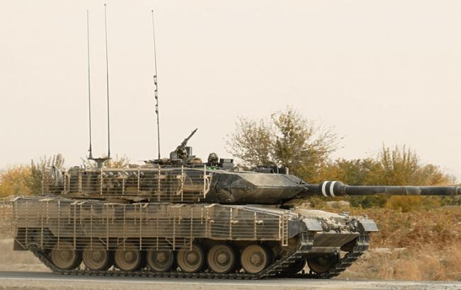 Фото: немецкий танк Leopard 2