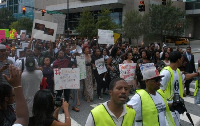 Фото: протест у Атланті