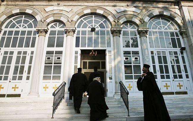 Фото: заседание синода Константинопольского патриархата в Стамбуле (bta.bg)