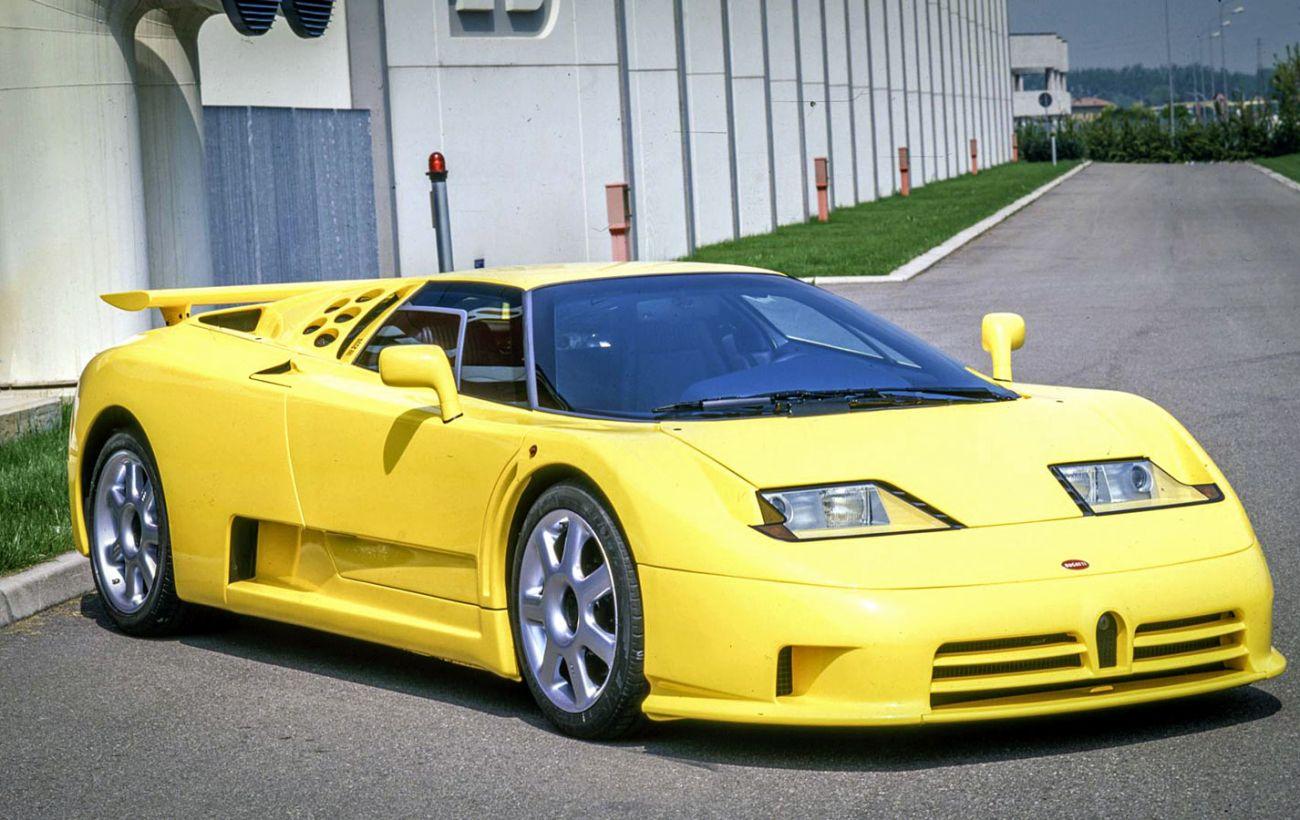 Bugatti EB110: исполнилось 30 лет суперкару, с которого срисовали Veyron