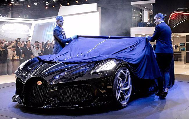 Bugatti показала самый дорогой автомобиль в мире: невероятные фото и видео
