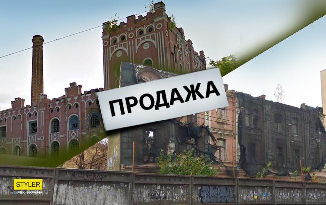 Фото: Исчезающие дома Киева (Коллаж РБК-Украина)