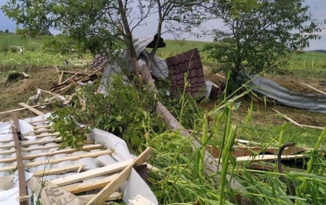 На Буковине пронесся циклон: последствия мощного ливня
