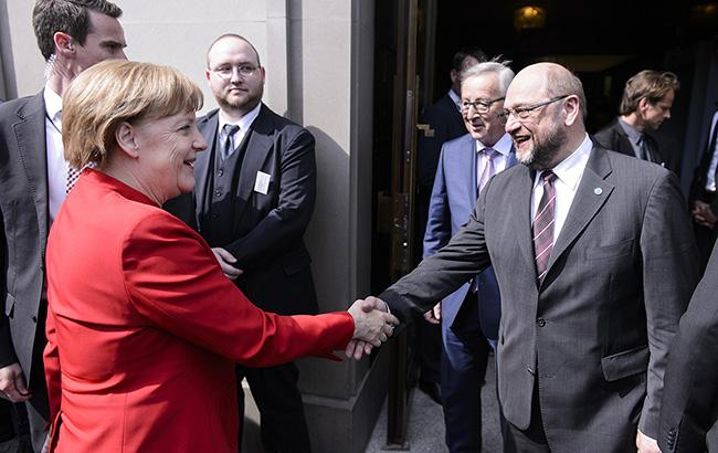 Фото: Ангела Меркель и Мартин Шульц (bundeskanzlerin.de)
