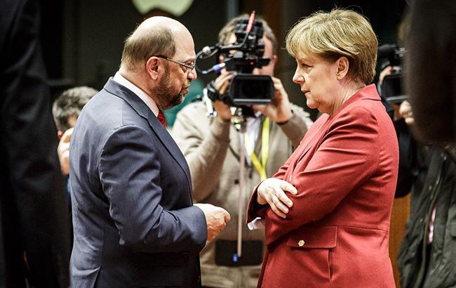 Мартін Шульц - головний конкурент Ангели Меркель у боротьби за посаду канцлера ФРГ (фото: bundeskanzlerin.de)