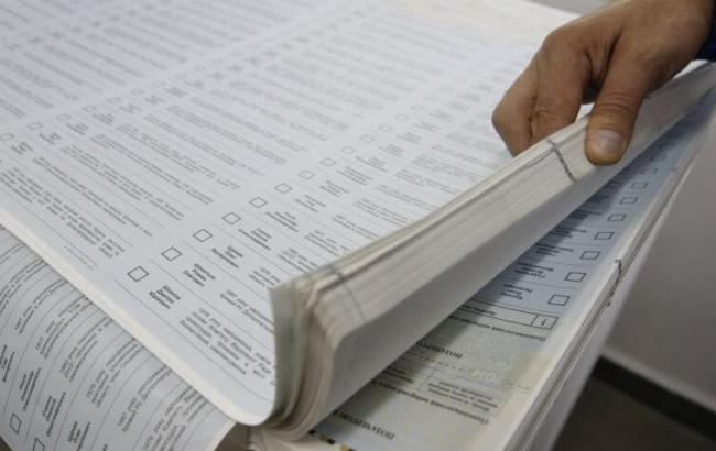 По результатам подсчета 96% бюллетеней во Львовский облсовет проходят восемь партий