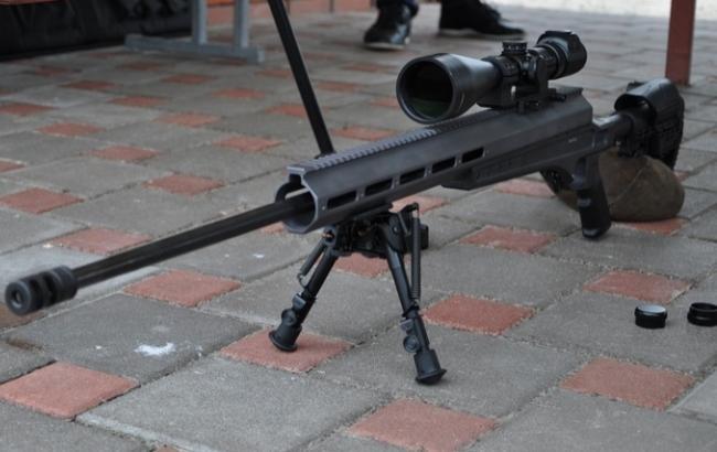 Украина представила улучшенную винтовку для снайперов