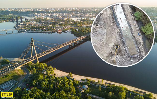 Заливають бетоном: у Києві знищують унікальну пам'ятку історії