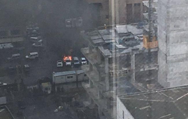 Фото: место взрыва в Измире