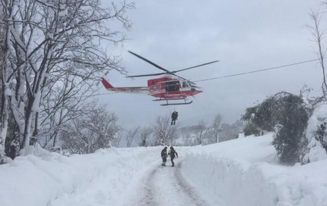 Лавина в Італії: кількість жертв зросла до 21