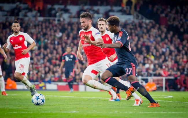 «Ливерпуль» вматче чемпионата Британии пофутболу обыграл «Арсенал»