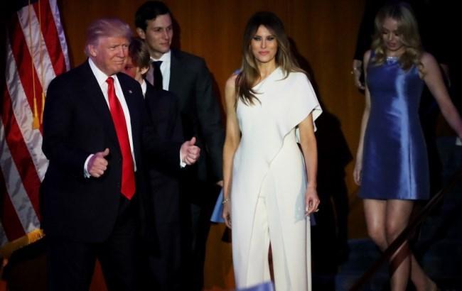 Фото: Дональд Трамп і Перша леді Америки (lady.tsn.ua)