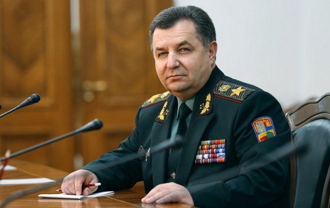 На строительство штаба ВМС и модернизацию флота выделено 100 млн гривен, - Полторак