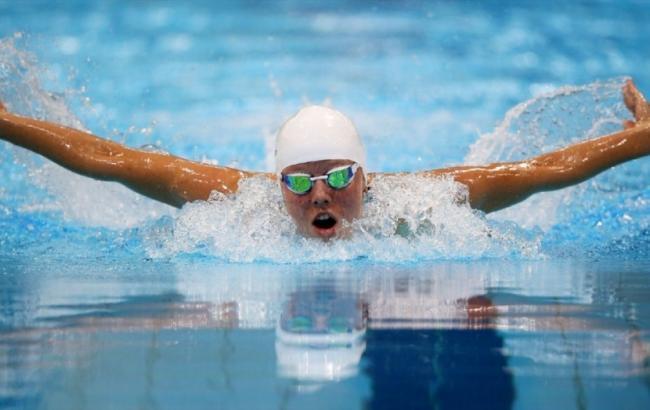Фото: Українка встановила рекорд по запливу на 50 м (riavrn.ru)