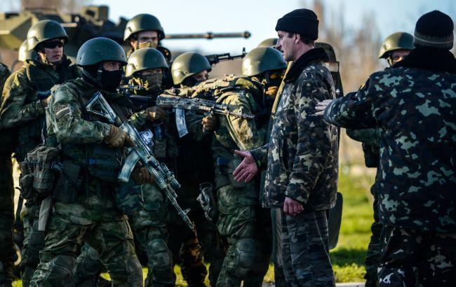 Фото: захват Крыма в 2014 году