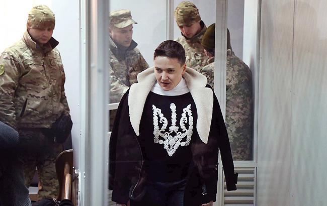 Савченко арестовали на 2 месяца