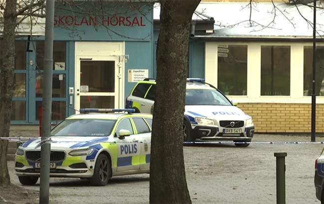 Фото: взрыв в Стокгольме (svt.se screen)