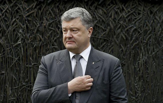 Порошенко объявил о государственном визите в Грузию в июле