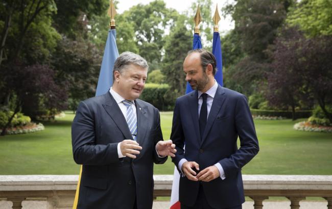 Фото: Петро Порошенко і Едуард Філіп (president.gov.ua)