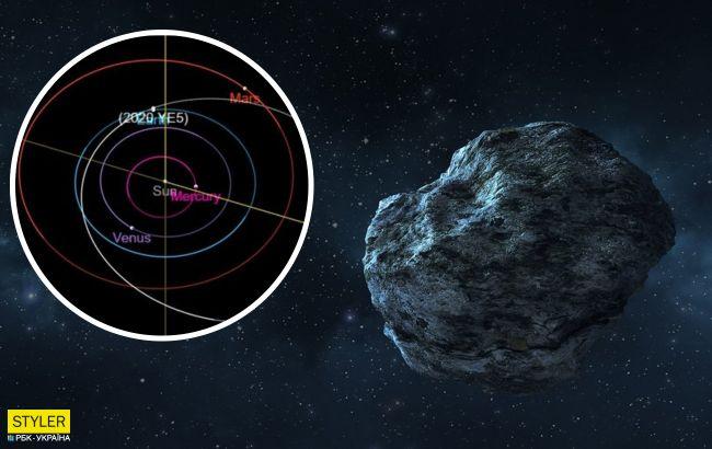 Рядом с Землей пронесется громадный астероид: размером с Лондонский глаз