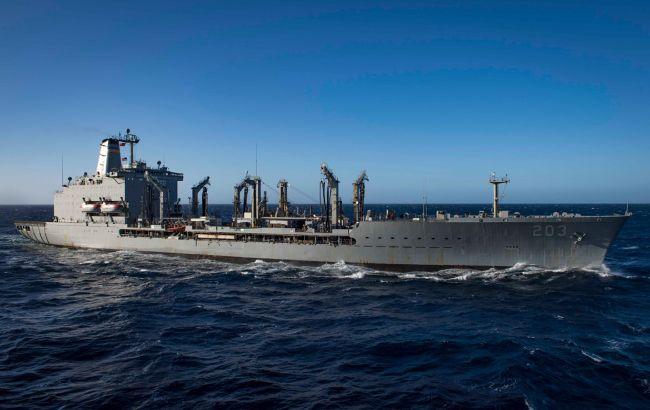 В Черное море зашел танкер ВМС США