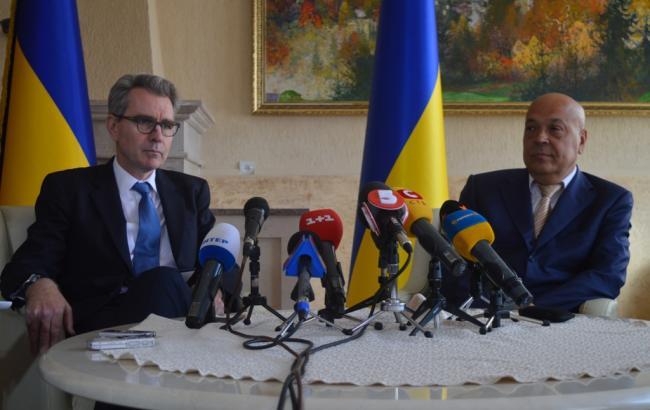 """Москаль попросил у посла США инвестиции и гарантировал, что """"ни цента"""" не украдут"""