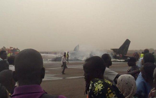 Фото: авиакатастрофа в Южном Судане