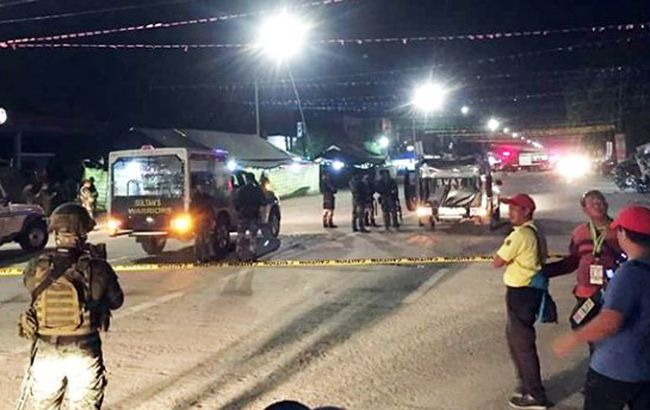 Из-за взрыва на Филиппинах пострадали шестеро детей